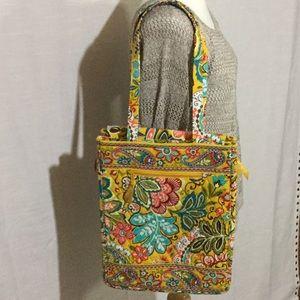 Vera Bradley Soft Laptop Shoulder Bag NWOT